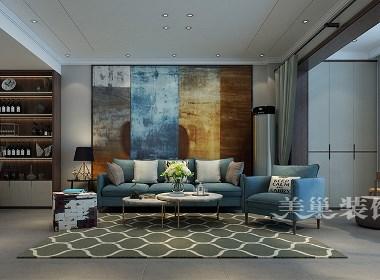 永威翡翠城复式150平现代简约风格装修案例欣赏