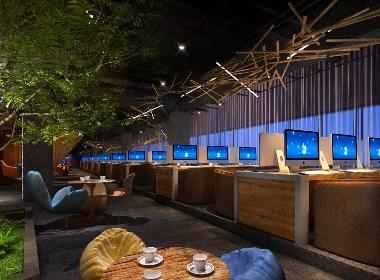 太原冰雨网咖设计-太原网咖设计装修|成都网咖设计|成都网吧设计公司|成都专业网咖装修公司