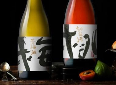梅桃李果酒包装设计