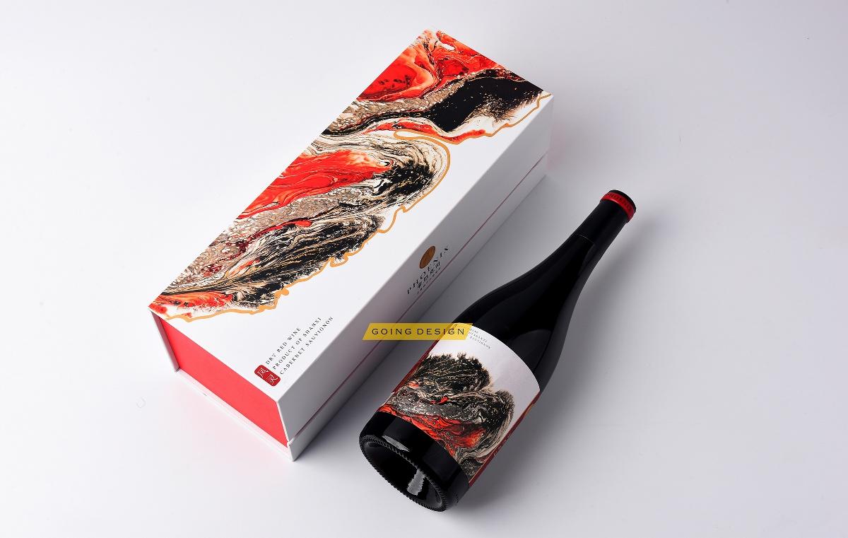 包装定制 葡萄酒包装设计 红酒包装方案分享图片