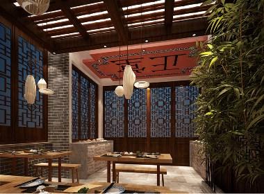 小飞设计:聊城古城面馆(太原餐饮品牌设计)