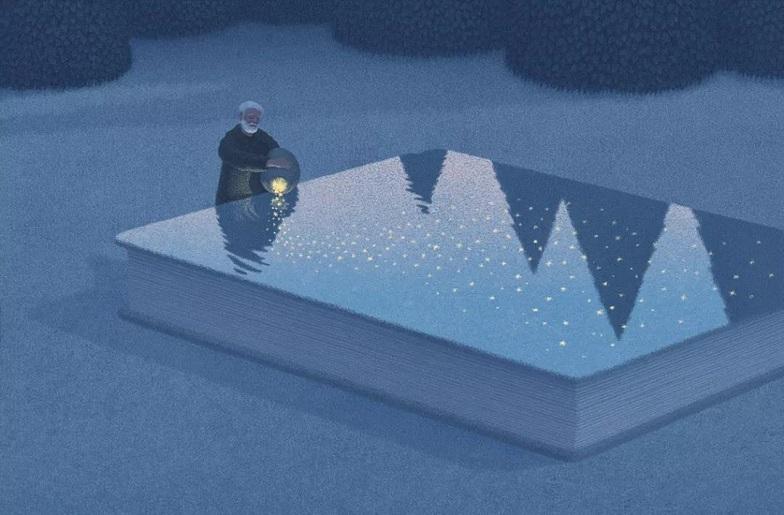 韩国插画师Jungho Lee:书中梦境