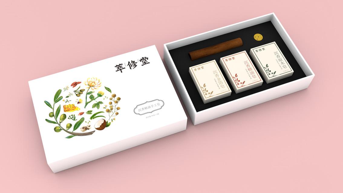 手工皂品牌形象升级vi设计,包装设计