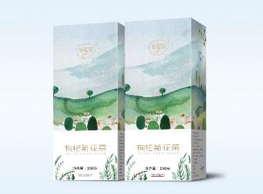 花草茶包装设计/产品包装/纸盒包装