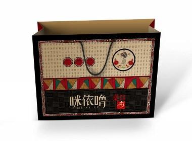 民族风包装设计/桌布包装盒设计
