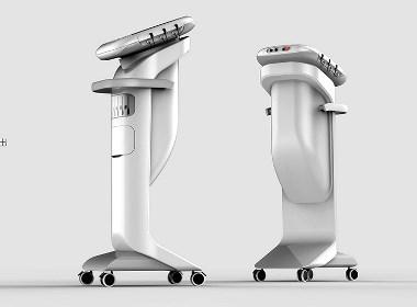 激光治疗仪设计 医疗台车 手术台车 治疗台车 外形外观工业设计