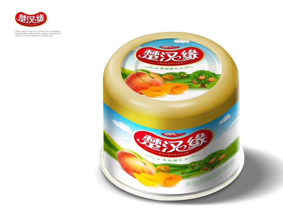 楚汉缘黄桃罐头