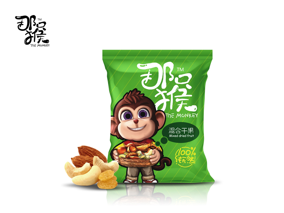 那只猴混合果仁