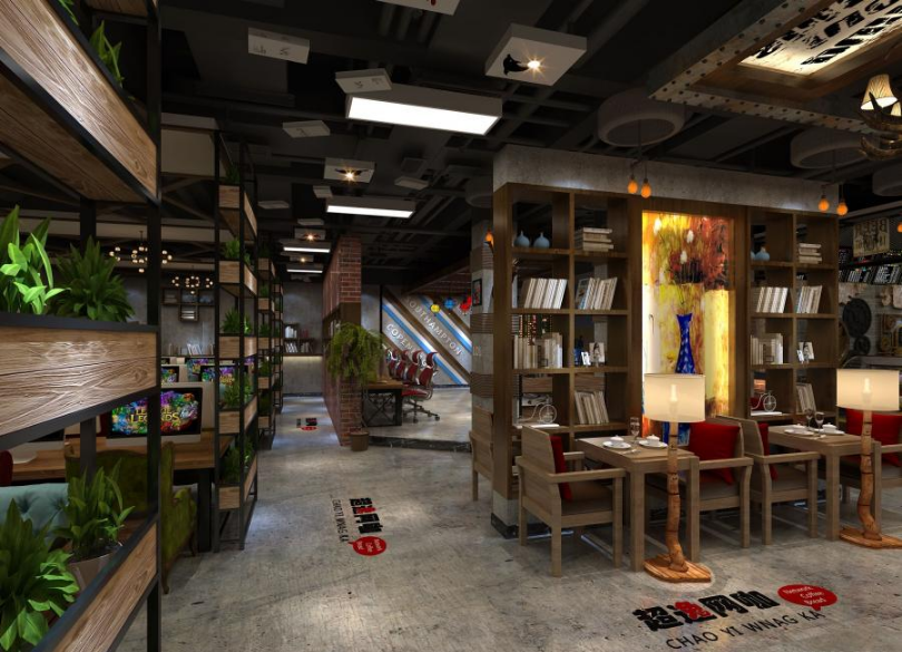 湖南超逸网咖设计-永州网咖设计|成都专业网咖设计|成都网吧装修公司|成都网咖设计公司