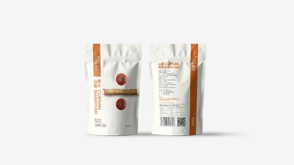 造塑创意~山药脆片 品牌包装升级