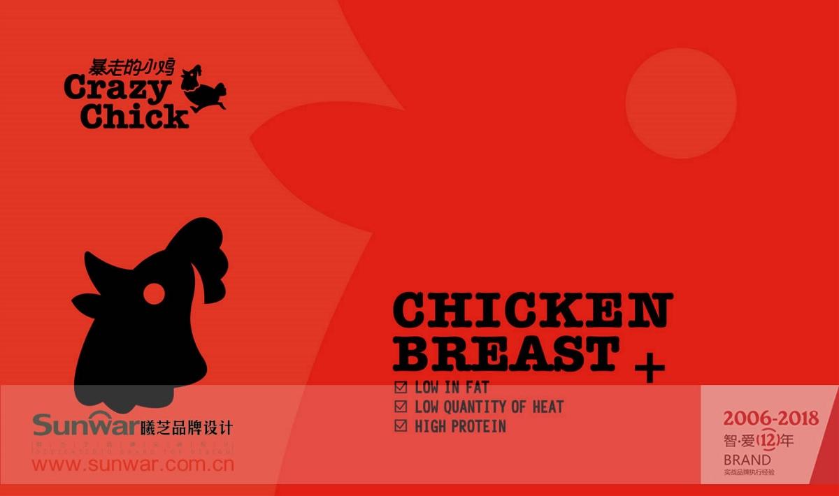 爆走的小鸡-食品包装设计