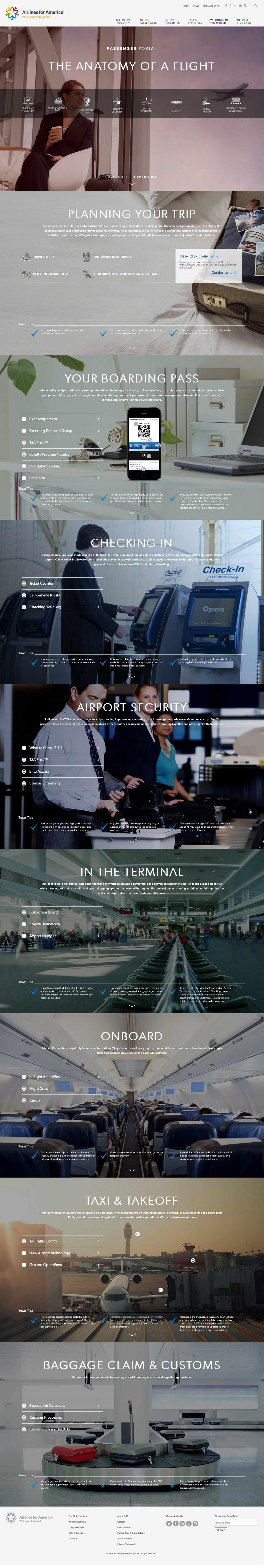 """一番·一站.132期丨""""飞向'高空'第一站""""机场行业网站赏析"""