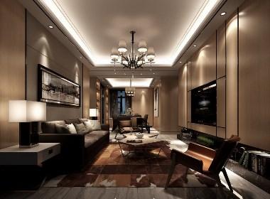 住宅空间效果图——易鸟设计作品