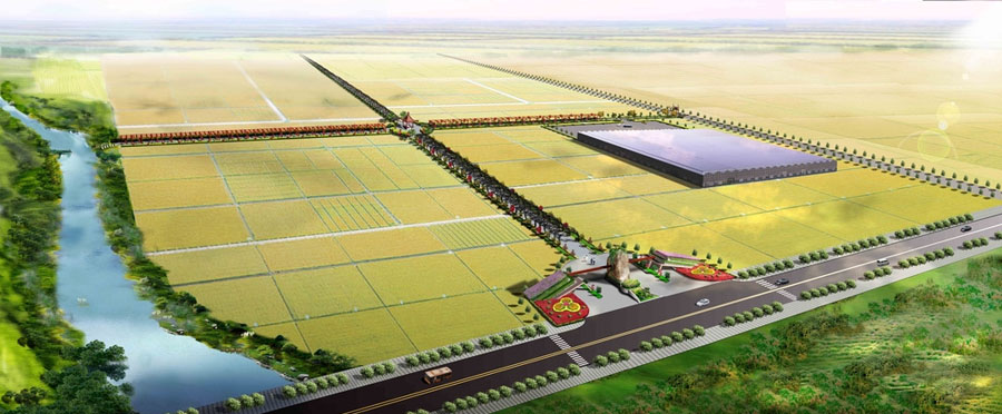 农业生态园设计案例效果图