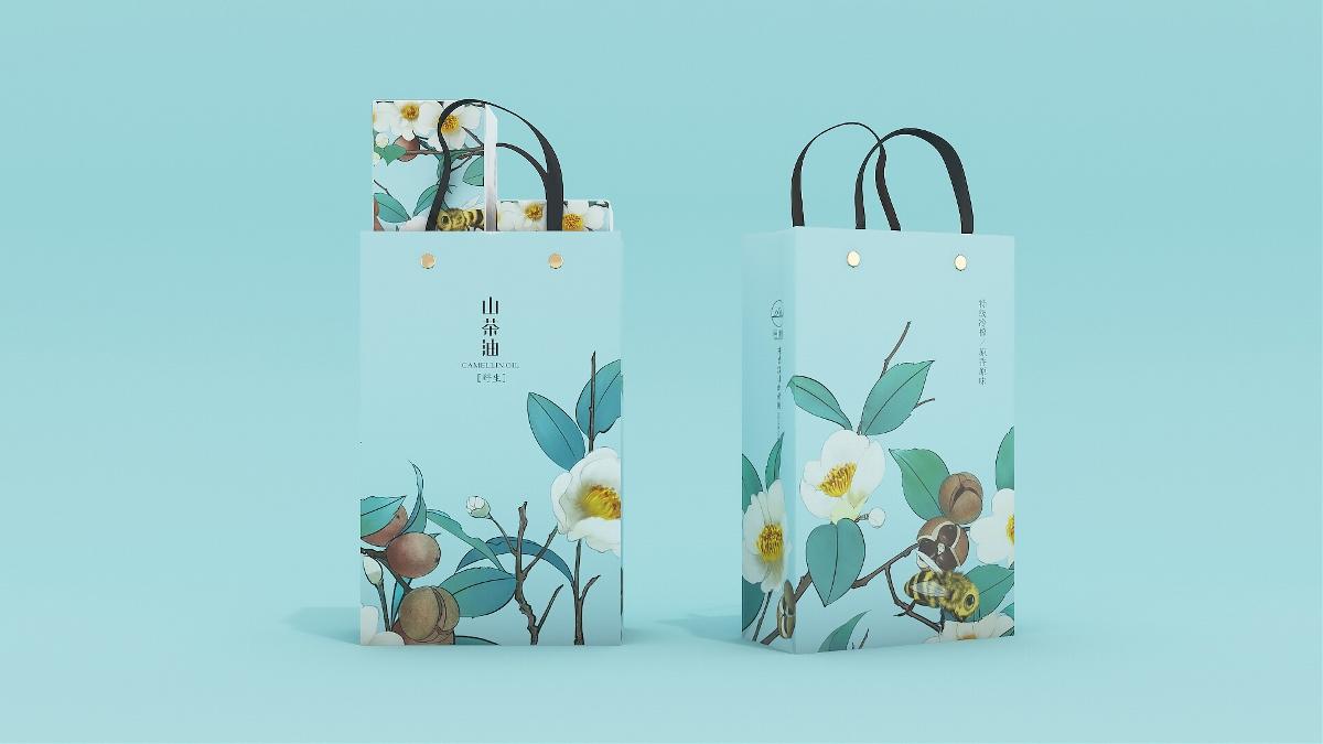 同信堂品牌 | 山茶油包装设计