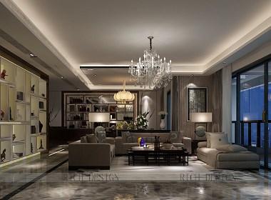 loft公馆现代装修装饰效果图案例