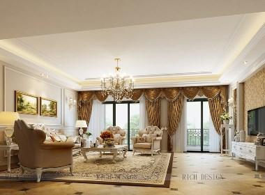 金地1号欧式别墅装修设计效果图方案