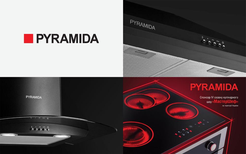 乌克兰厨具品牌Pyramida推出新品牌设计