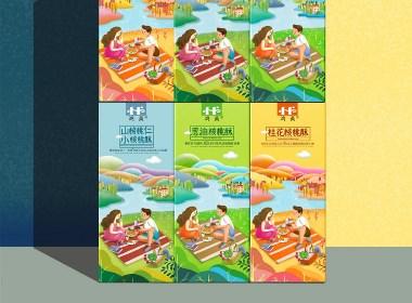 包装设计—核桃酥包装设计规划