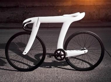 灵感来自爱因斯坦的π的自行车设计