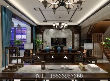 晒如园小区135㎡洋房,大户型装典雅新中式,每个角落都成一景!