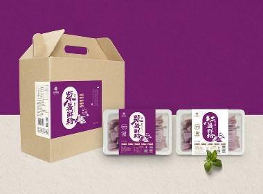 紫薯鲜粉产品包装设计