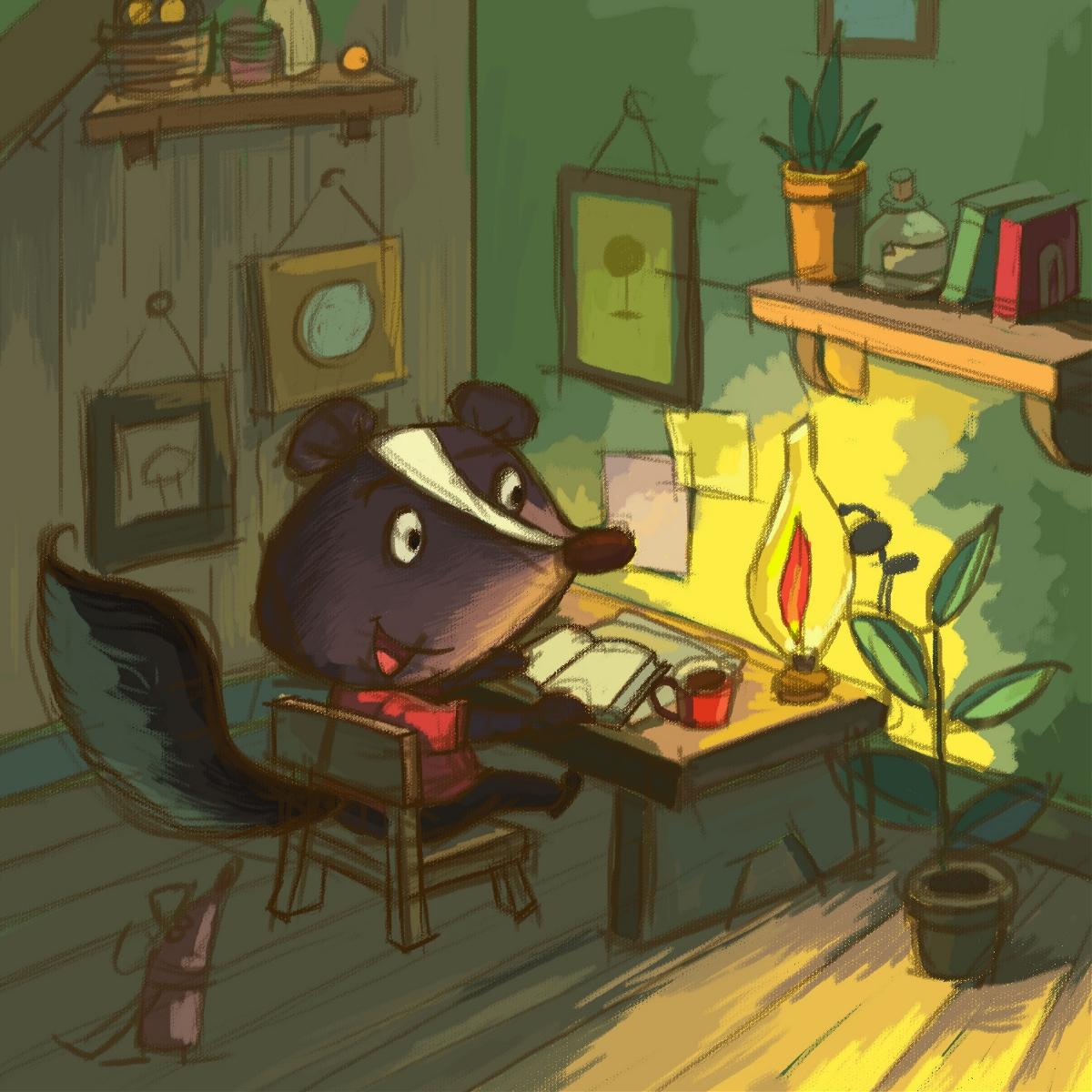 读书小老鼠