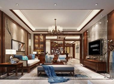 博林天瑞中式别墅装修设计案例