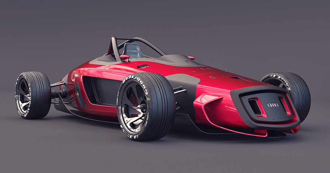 奥迪概念车设计