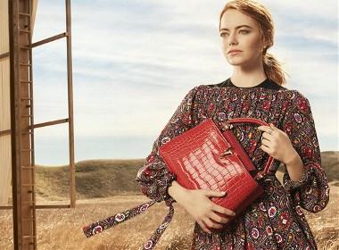 """Emma Stone LV全新""""旅行精神"""""""