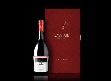 凯斯蓬莱特红酒包装设计