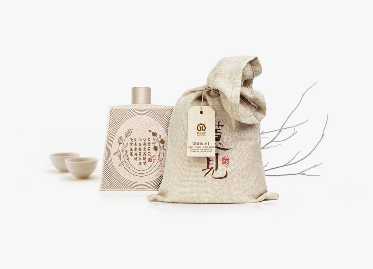 薏见 薏米酒包装设计