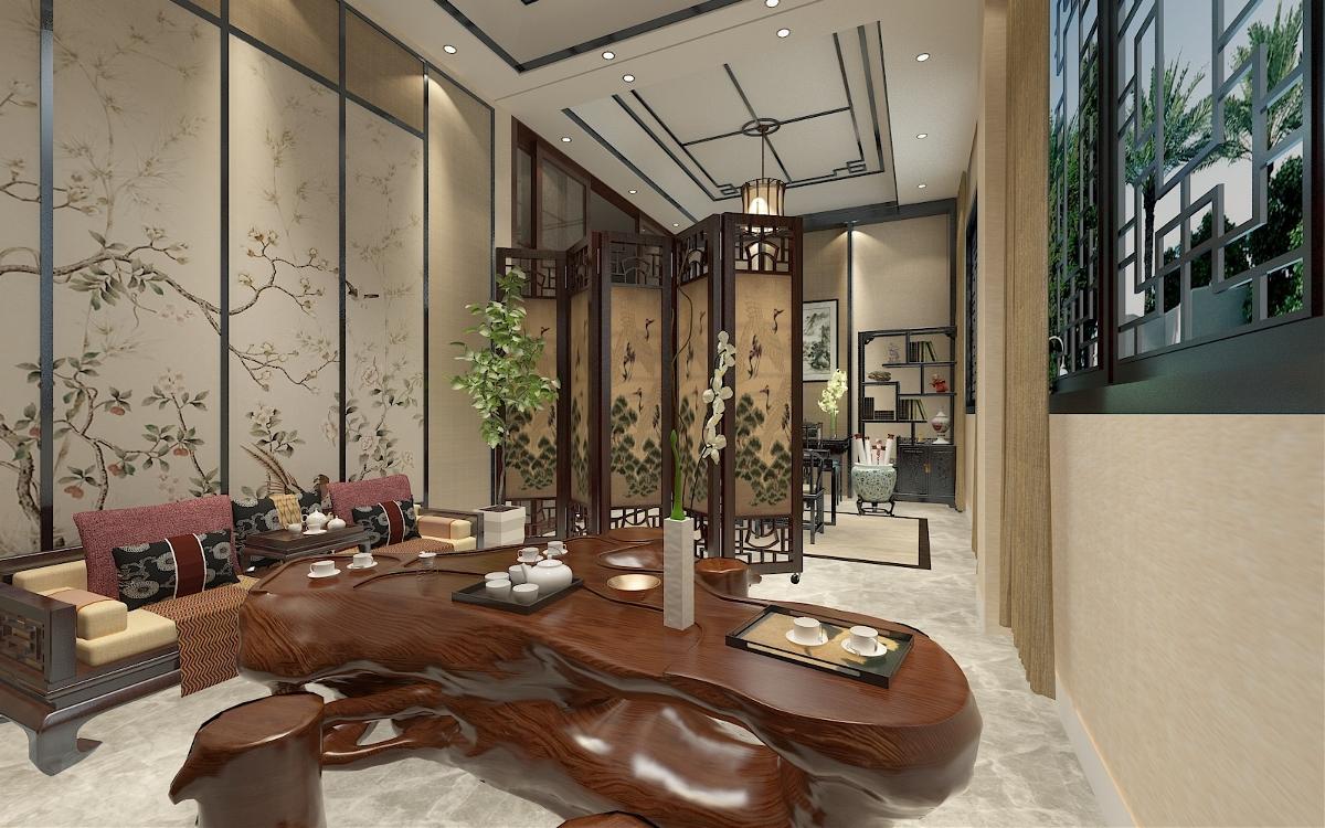 現代中式 |  茶室 書房