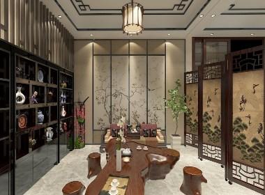 现代中式 |  茶室 书房