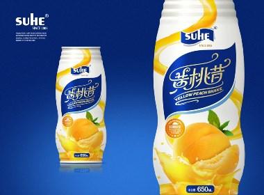 """苏禾""""黄桃昔""""果汁饮品"""