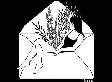 Henn Kim著名的插画师