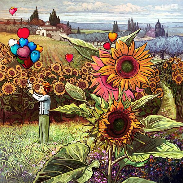卡森插画-绘本《后青春期的诗》1