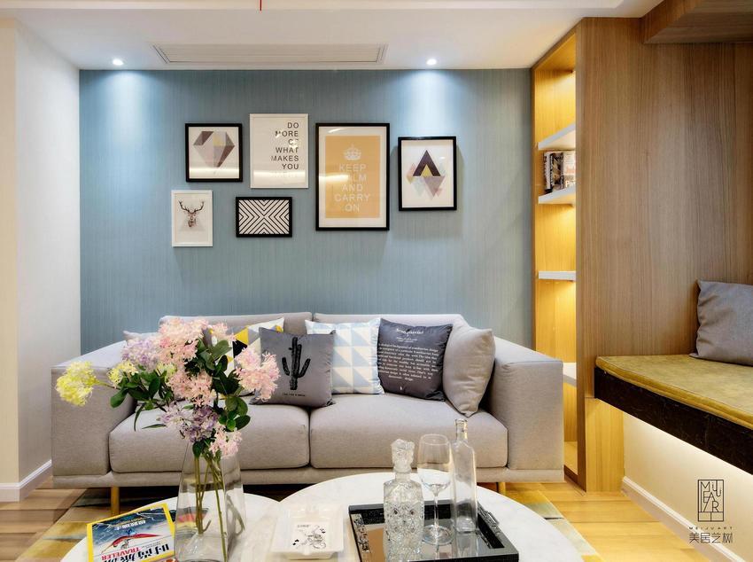 富有層次感·舒適的家