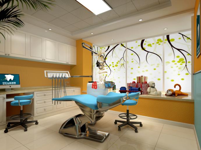 精致口腔医院设计-成都口腔牙科设计|成都牙科诊所设计|成都口腔医院