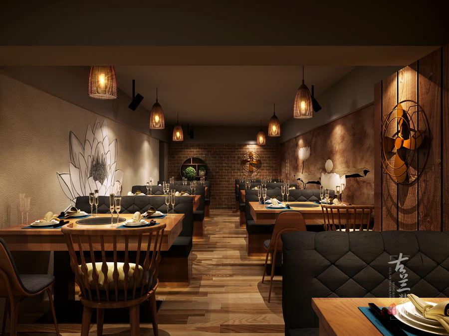 藕遇餐厅-成都中餐厅装修 成都中餐厅设计公司-中国