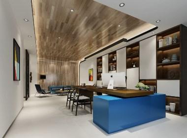 深圳创展大厦办公室装修设计效果图案例