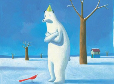 北极熊的狂想插画欣赏