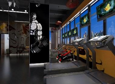 浙江OK Tit健身房设计-杭州健身房设计公司|宁波|温州|嘉兴|绍兴健身房装修设计公司