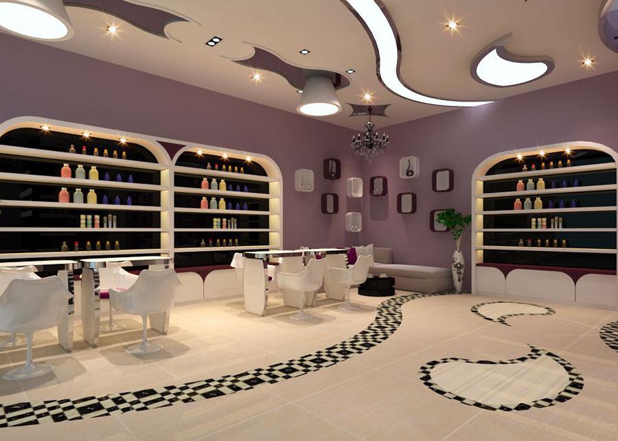 美甲 美容店面 室内装饰 装修设计 美甲店面 美容店 指甲店 美甲店