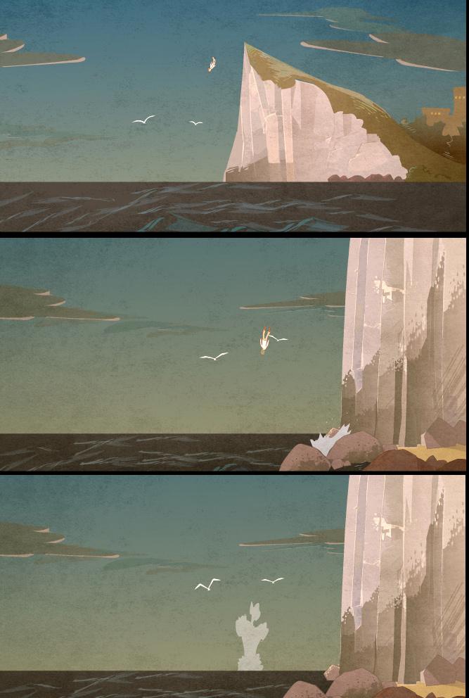 鲸之居插画设计