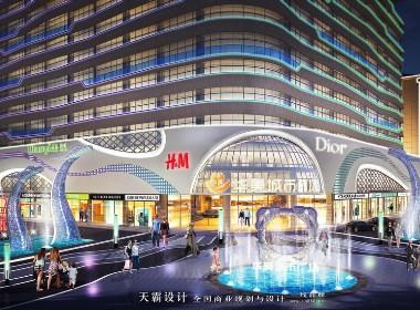 时尚前卫的购物中心设计效果图提升购物中心整体档次