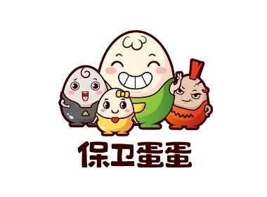 保卫蛋蛋logo设计