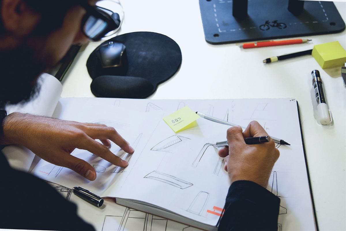 创意简约停靠产品设计