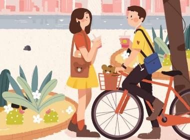 一诗一城市—城市插画欣赏