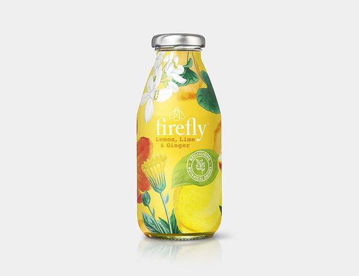 果汁插画包装